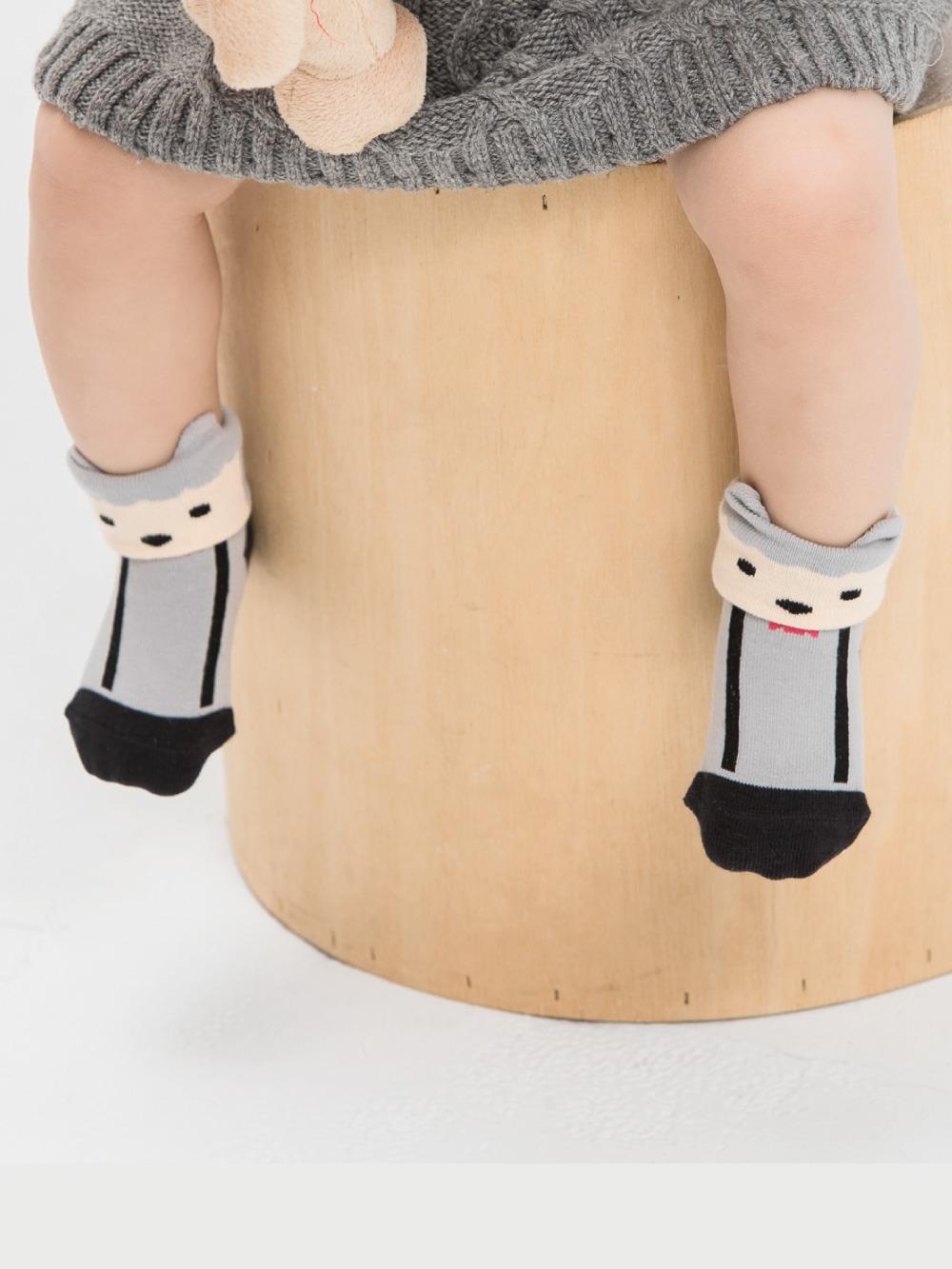 貝寶童話故事短襪(寬口)-七小羊