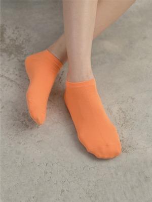 貝柔馬卡龍萊卡船型襪-純色