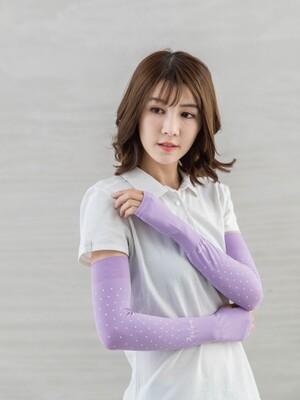 貝柔UPF50+高效涼感防蚊抗UV成人袖套_點點(12色)