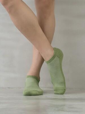 萊卡防震運動氣墊襪-男船型