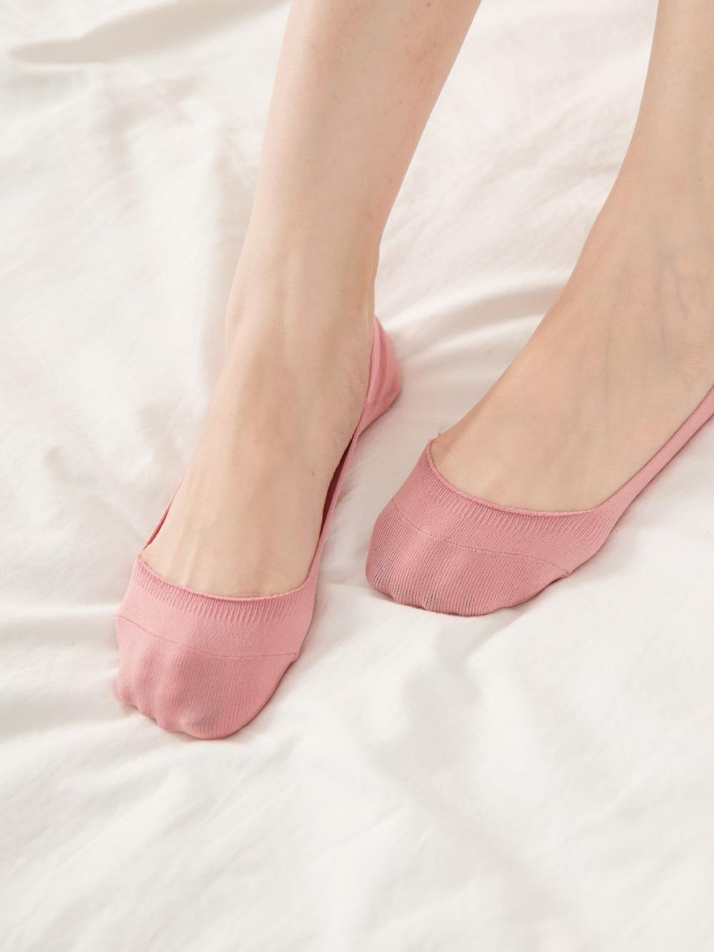 貝柔0束痕吸濕速乾止滑襪套-娃娃鞋款