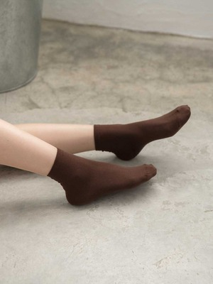 貝柔涼感夏日腳底止滑短襪-純色