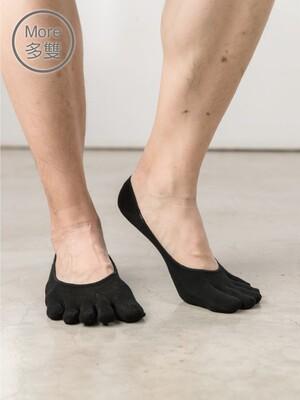 (6雙)13針柔棉乾爽五指襪-加大襪套