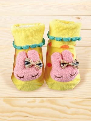 貝寶手縫公仔寶寶短襪_兔子