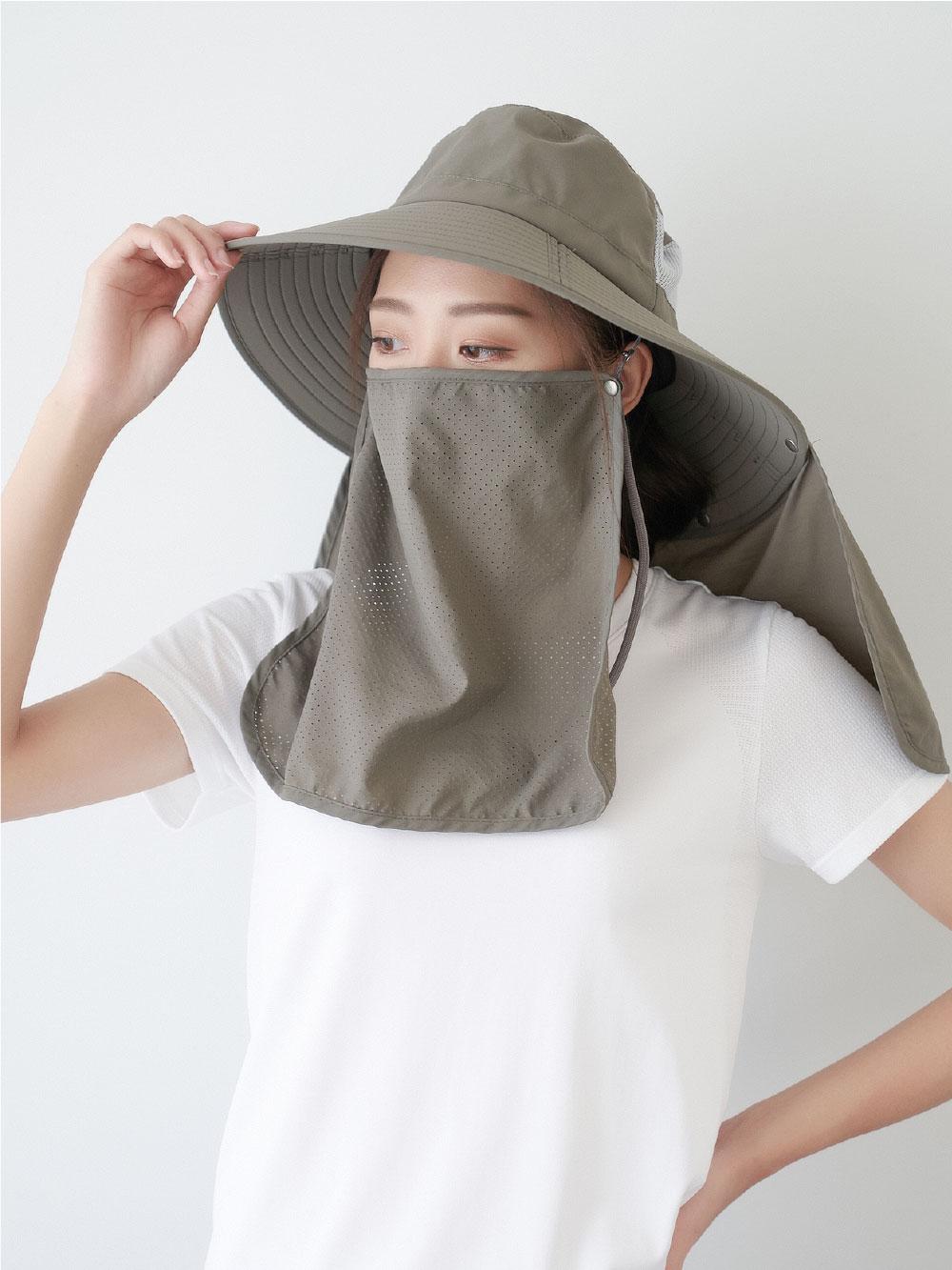 貝柔UPF50+多功能四折遮陽帽