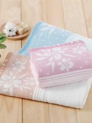 貝柔高級純棉大浴巾-蘭花系列