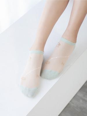 貝柔消臭精梳棉船襪-雙魚