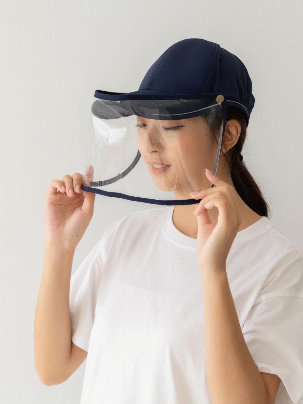 貝柔UPF50+多功能防疫遮陽鴨舌帽