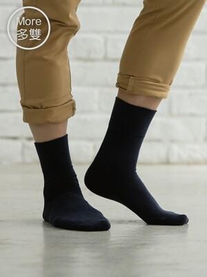 (5雙)Supima抗菌萊卡除臭襪-短襪(紳士寬口)