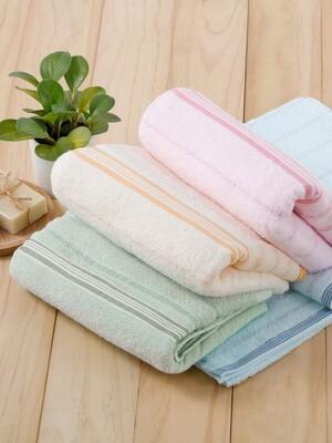 (2入)貝柔高級純棉大浴巾-條紋系列