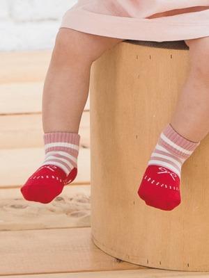 貝寶Supima寶寶襪-英倫蝶結