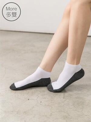 貝柔(6雙)萊卡細針編織學生襪_船型襪(一般)