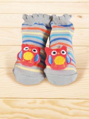 貝寶手縫公仔寶寶襪-貓頭鷹