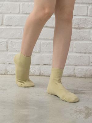 貝柔馬卡龍萊卡短襪-純色