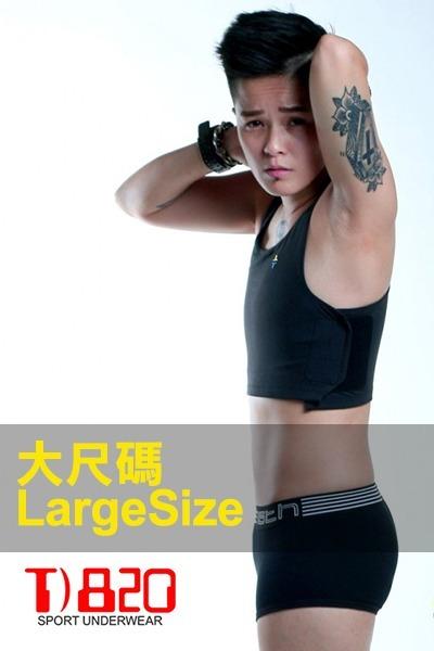 【DOUBLE束胸】加強黏貼式半身第III代-大尺碼