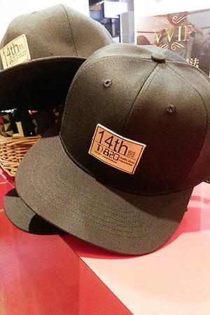 14周年皮製logo紀念帽