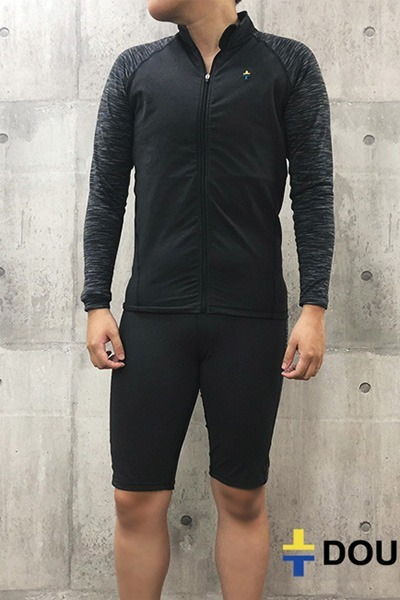新版-ZIP防磨束胸泳衣-橫紋
