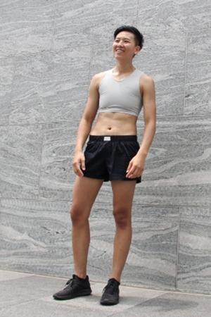 FitMe套頭束胸-短版 White