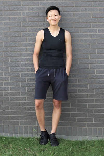 FitMe套頭束胸-長版 Black