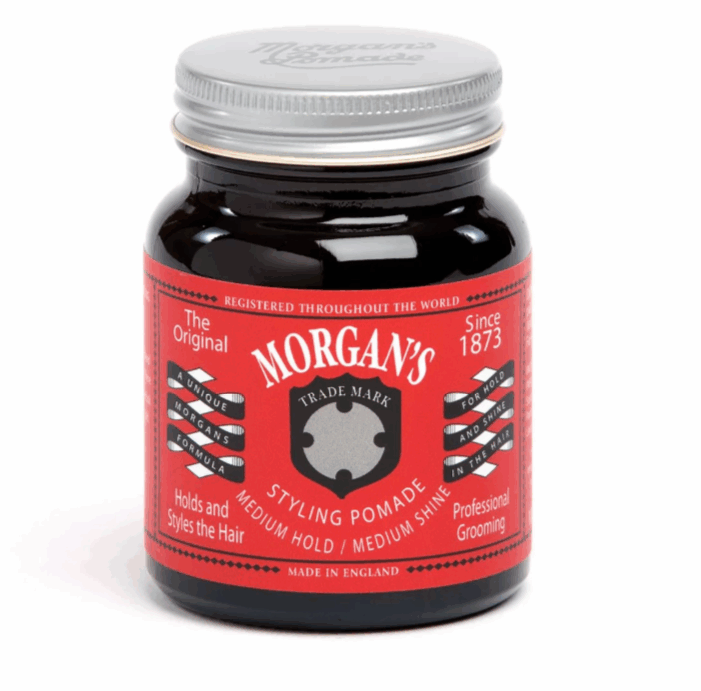 英國 Morgan's 高重塑性 水洗式髮油
