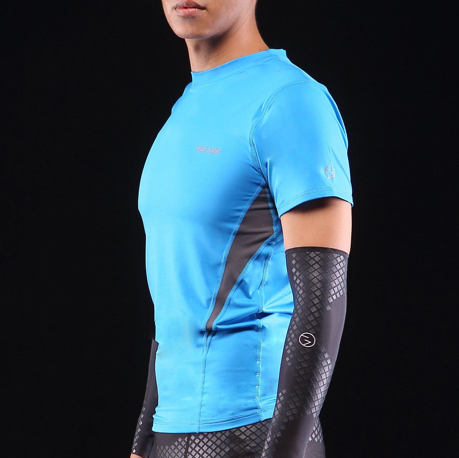FREEZONE  短袖緊身上衣 2色【FZ162005】