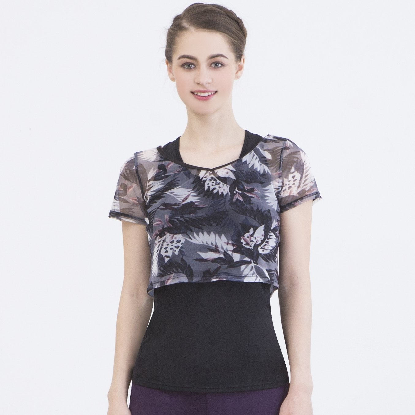 短版罩衫 【D18124】