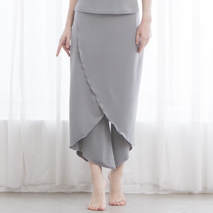 造型九分寬褲 2色【D18132】