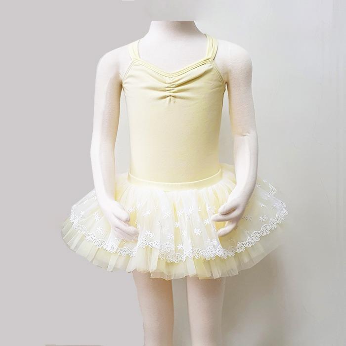 芭蕾組合價-舞衣加紗裙【BDW12B52+棉童雙吊平背】