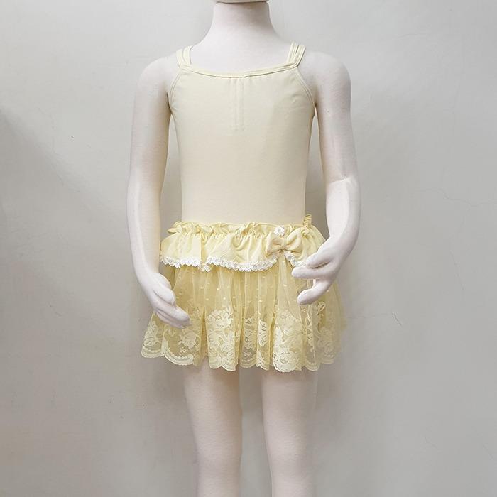 芭蕾組合價-舞衣加紗裙【BDW12B53+棉童雙吊平背】剩下M號