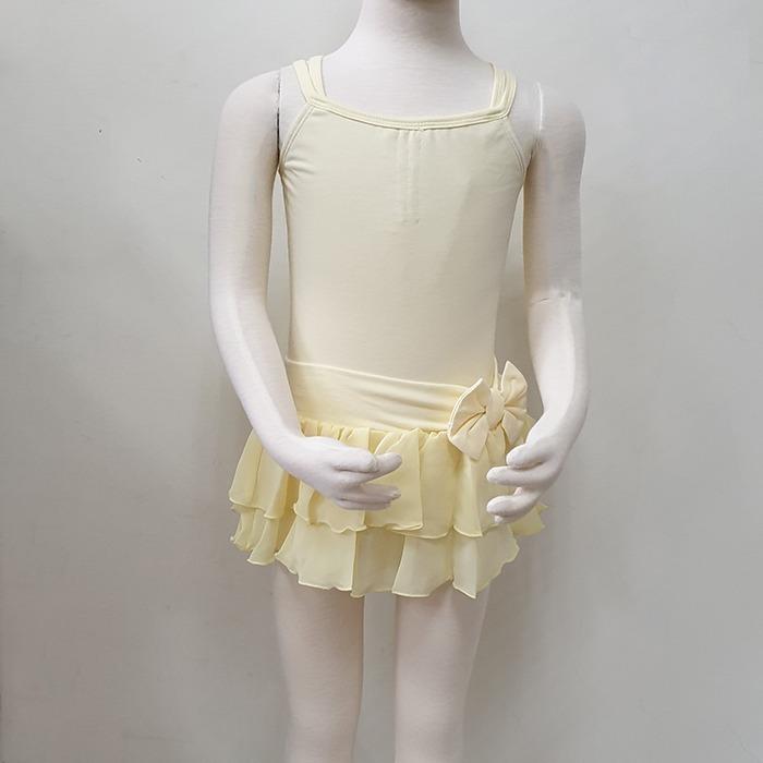 芭蕾組合價-舞衣加紗裙【BDW13B56片裙+棉童雙吊平背】