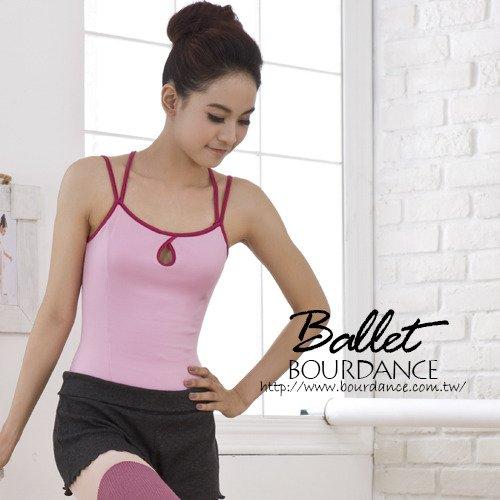 芭蕾 雙吊帶造型美背連身舞衣 2色 【BDW13B05】