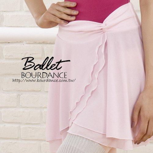 芭蕾 抓縐層次設計雪紡片裙【BDW13B15】