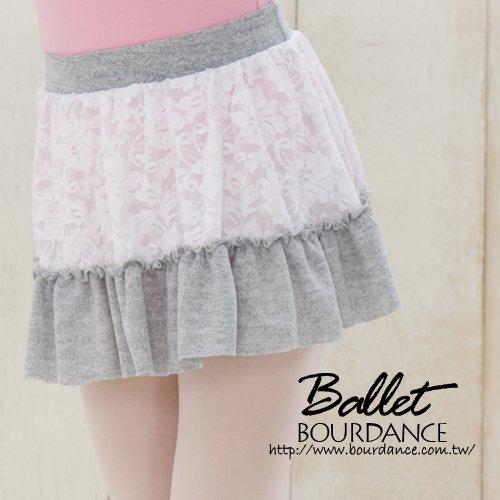 兒童芭蕾 蕾絲保暖片裙【BDW14B57】