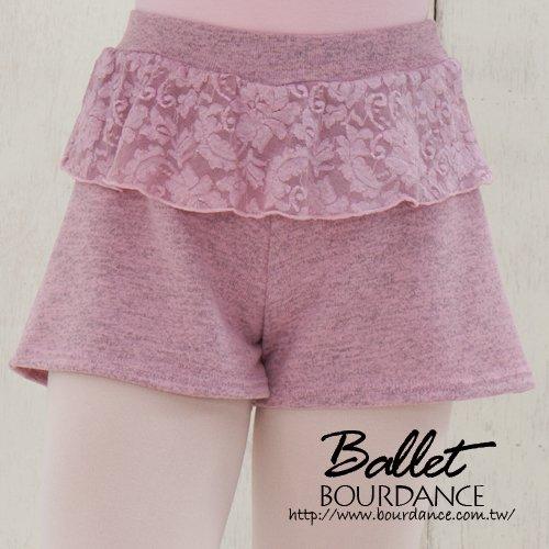 兒童芭蕾 蕾絲保暖褲【BDW14B63】