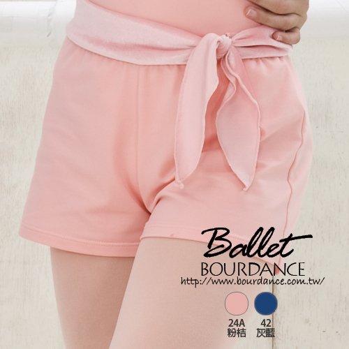 兒童芭蕾 綁結裝飾設計短褲 2色 【BDW14B89】