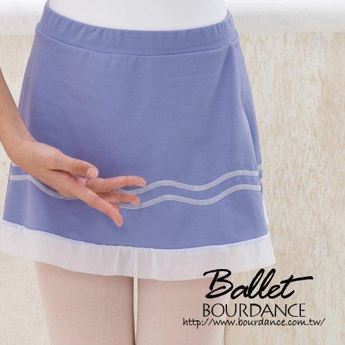 兒童芭蕾 車線裝飾層次設計片裙【BDW14B90】