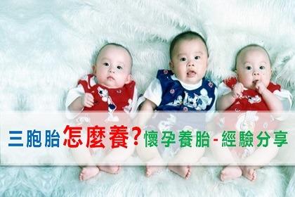 我的寶貝三胞胎-懷孕養胎經驗分享