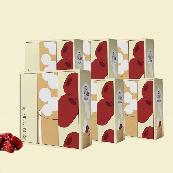 神奇紅棗精&蘊養三寶精(任選6盒)
