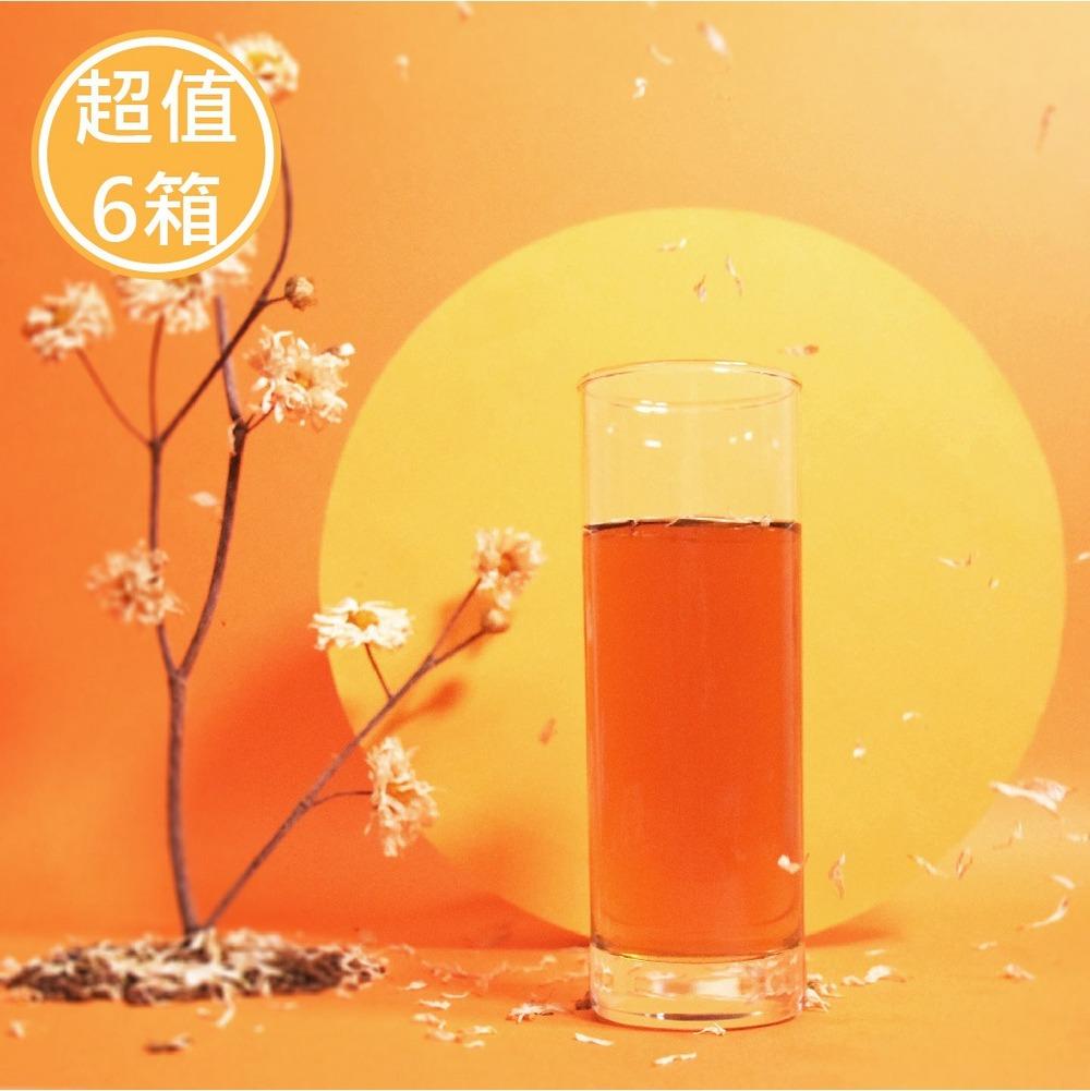 杭菊枸杞紅棗茶-6箱/每箱省560元!!
