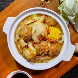 素麻油雞多醣草本燉湯