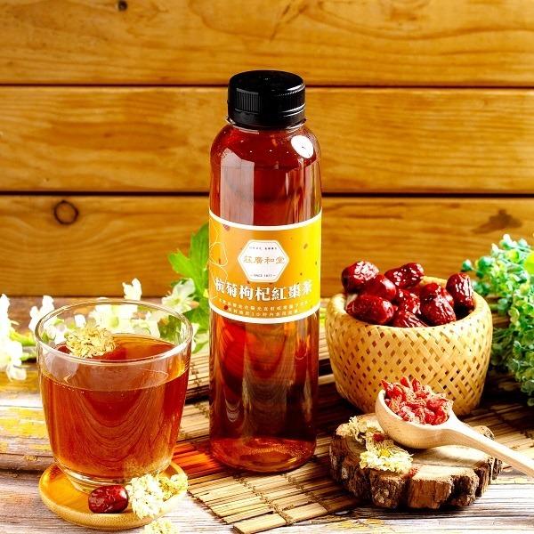 杭菊枸杞紅棗茶(瓶裝)