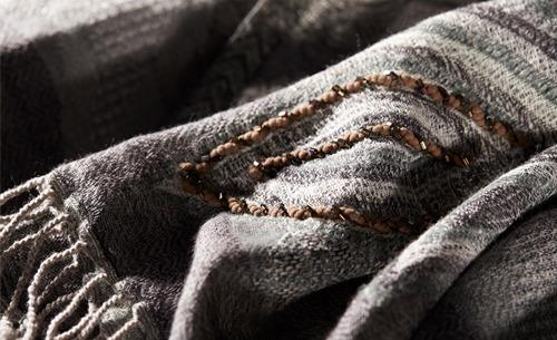 如何分辨羊毛披肩的真假?