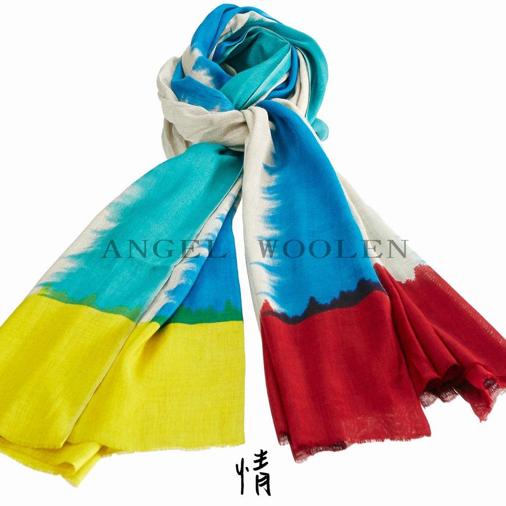 【Angel Woolen】渲染風情MODAL披肩 圍巾(情) 僅剩4條