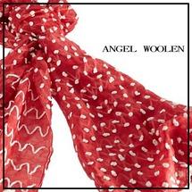 【Angel Woolen】點綴夢想 印度手工羊毛絲光披肩 圍巾(共兩色)