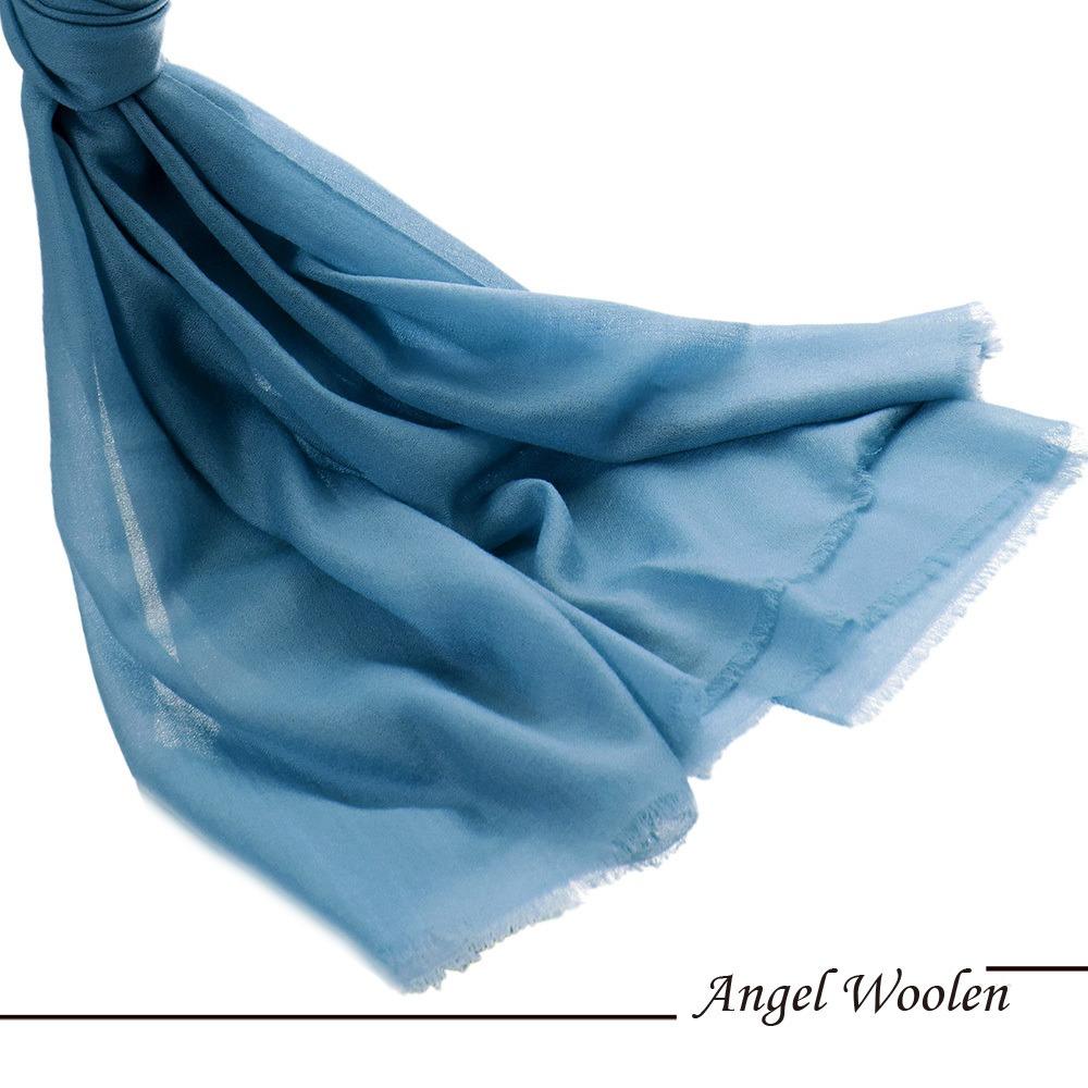 【Angel Woolen】純潔心靈 Cashmere鑽石紋羊絨披肩 圍巾