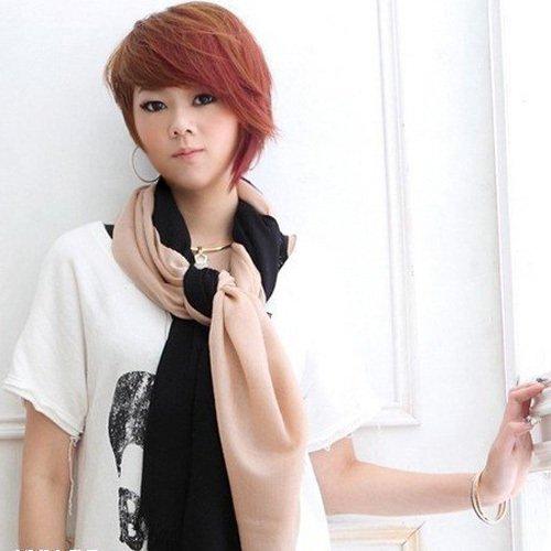 【Angel Woolen】素面絲光羊毛披肩 圍巾(共四色) 僅剩黑2 海藍5