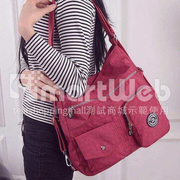 超大容量 輕量 側背包 後背包 防潑水