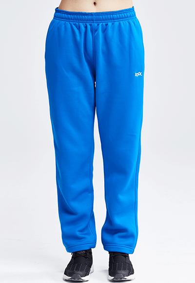 MIT炙熱蜂巢刷毛休閒褲(琉璃藍 女S-XL)