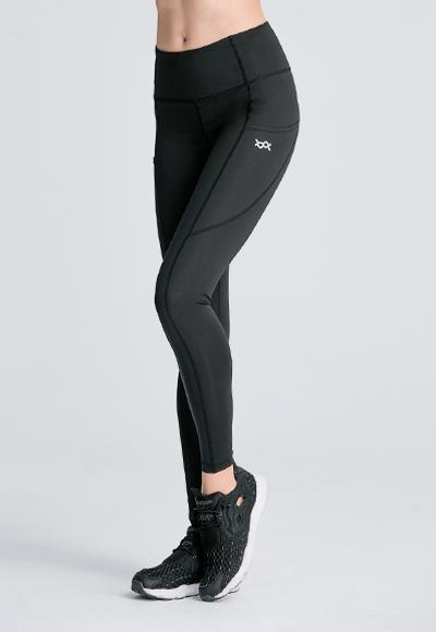 MIT美型塑腰遠紅外線活腿壓力褲(經典黑 女S-2XL)
