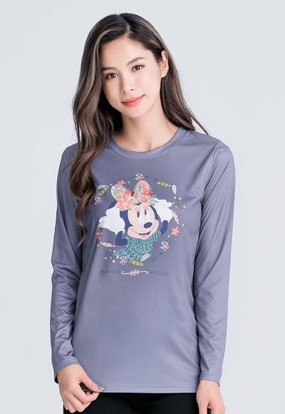 維納斯米妮漾彩圓領輕暖衣(銀河灰 女S-2XL)
